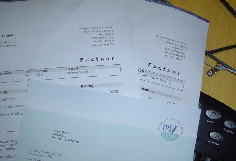 Vraag om een correcte factuur!   Taxnavigator, online fiscaal