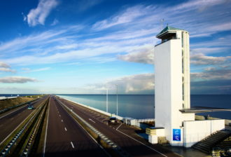 Afsluitdijk  The Tower